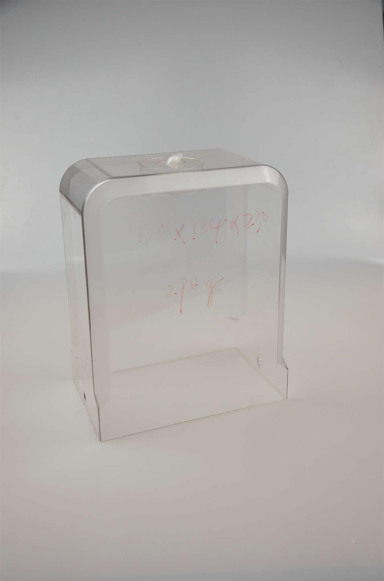 长方形透明酒盒