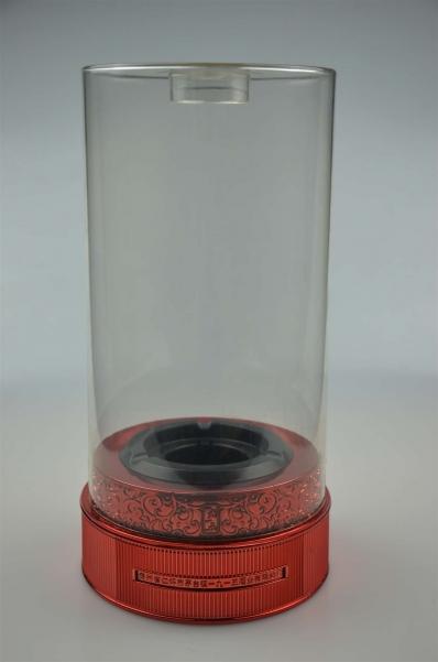 圆形透明酒盒