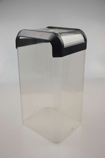黑盖透明酒盒